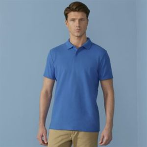 Softstyle adult double piqué polo Thumbnail