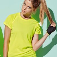 Stedman T-shirt Raglan Mesh ActiveDry for her Thumbnail