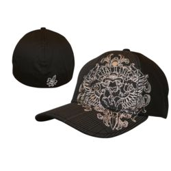 Miami Ink - Fitted Cap With Logo Thumbnail